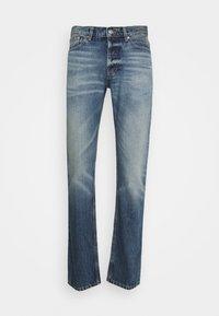 sandro - SLIM AGED - Slim fit jeans - blue vintage denim - 0