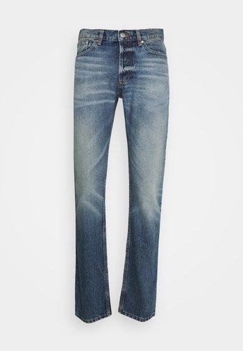 SLIM AGED - Slim fit jeans - blue vintage denim