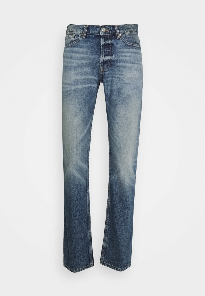 sandro - SLIM AGED - Slim fit jeans - blue vintage denim