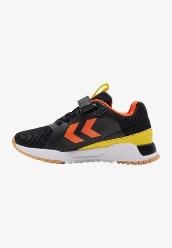 Sports shoes - black/vibrant yellow