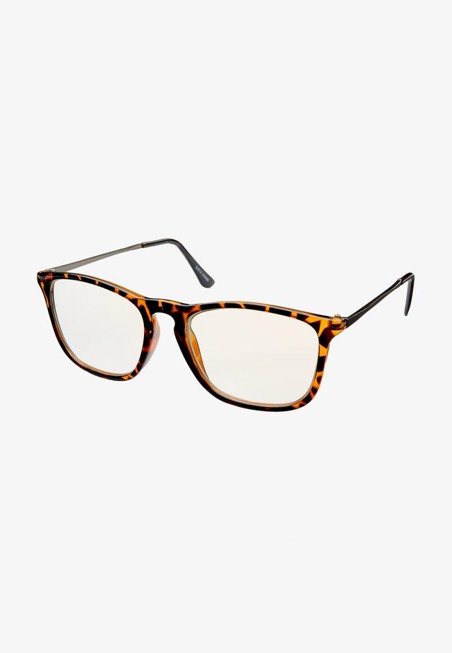 SPRITZ BLUE LIGHT GLASSES - Sunglasses - tortoise