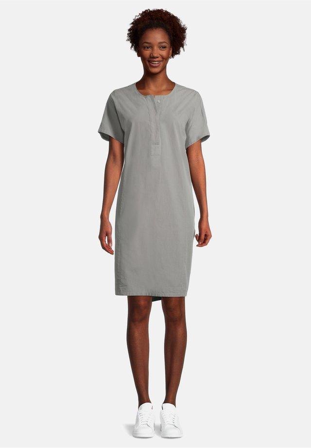 Korte jurk - dusty pine