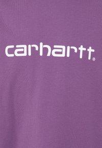Carhartt WIP - SCRIPT  - Print T-shirt - aster/white - 2