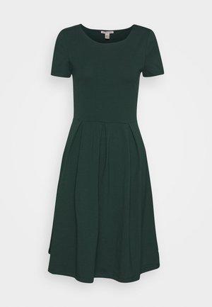 Žerzejové šaty - green