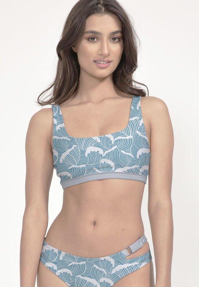 CAPARICA - Bikini top - blau