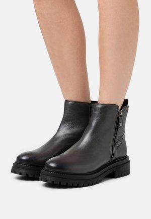 IRIDEA - Platform ankle boots - anthracite