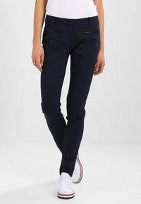 Tommy Hilfiger - MARTA  - Spodnie materiałowe - blue - 0
