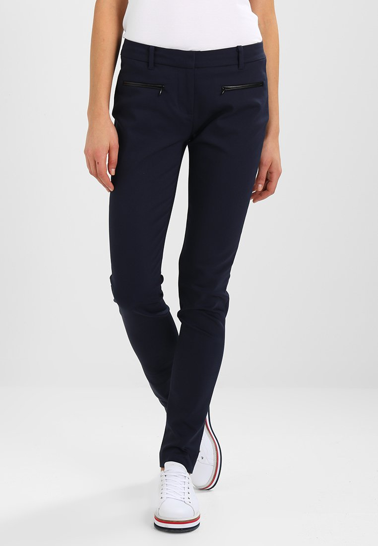 Tommy Hilfiger - MARTA  - Spodnie materiałowe - blue