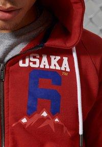 Superdry - Zip-up hoodie - rouge red - 2