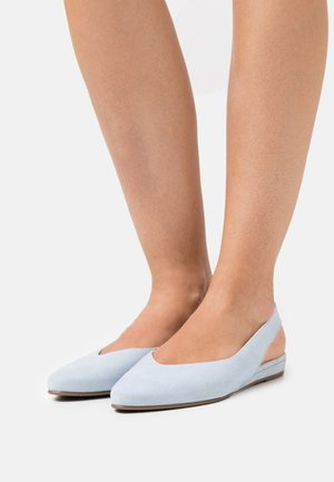 Slingback ballerina´s - powder blue