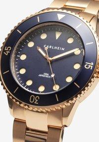 Carlheim - DIVER 40MM LINK - Montre - rose gold-blue - 2