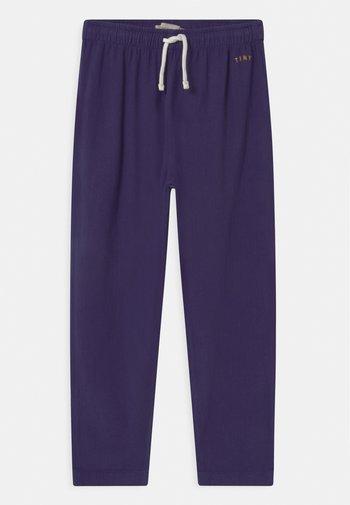 SOLID UNISEX - Trousers - indigo