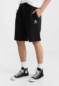 Converse - STAR CHEVRON  - Pantalones deportivos - black - 0