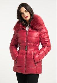 faina - Winter jacket - dunkelrot - 0