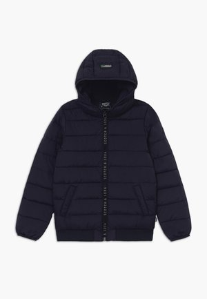 HOODED - Light jacket - blue