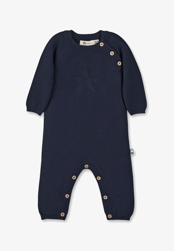 STRICK OVERALL JUMPSUIT
