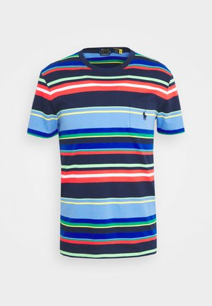 Print T-shirt - newport navy multi
