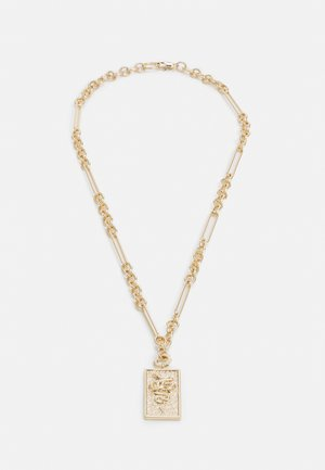 SNAKE TAG NECKLACE - Necklace - gold-coloured