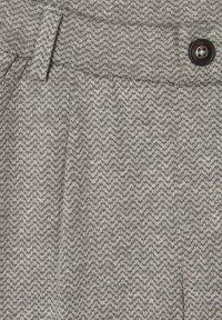 Name it - GEMUSTERTE - Pantaloni eleganti - grey melange - 2