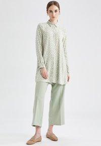 DeFacto - Button-down blouse - ecru - 1