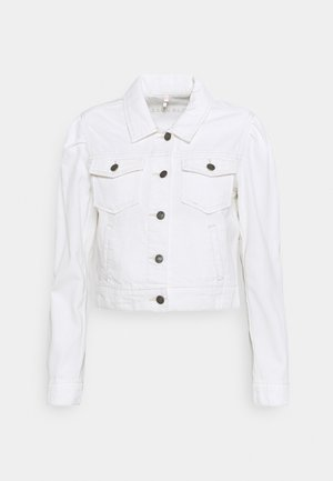 JACKET CROPPED - Jeansjakke - off white