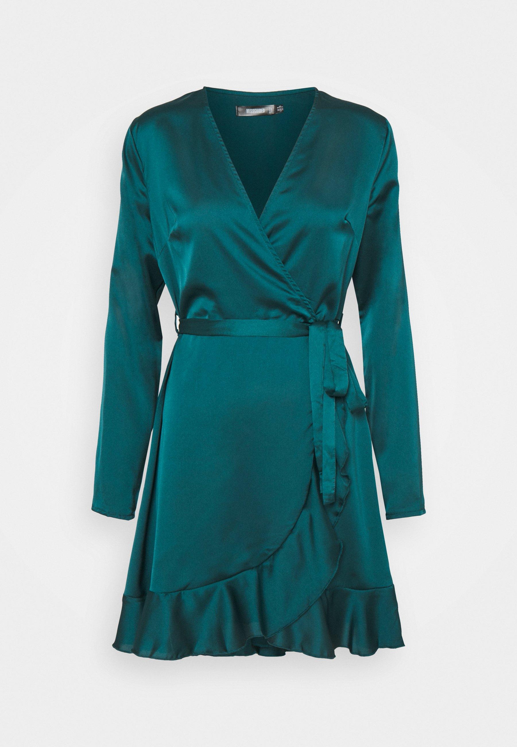 Women RUFFLE TEA DRESS - Cocktail dress / Party dress