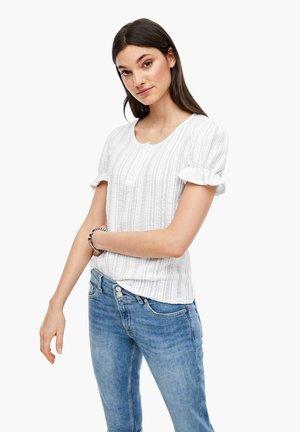 T-SHIRT - Blouse - white