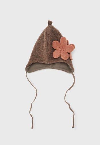 FLOWER - Hat - walnuss