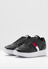 Tommy Jeans - HIGH CLEATED SEASONAL  - Sneakers - black - 4