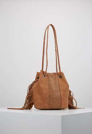 SIERRA - Handbag - cognac