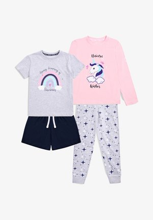 SET  - Pyjama - grey/pink/navy