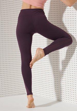 Leggings - Trousers - mulled plum
