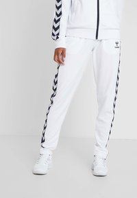 Hummel - DEE TRACKSUIT SET - Survêtement - bright white - 3