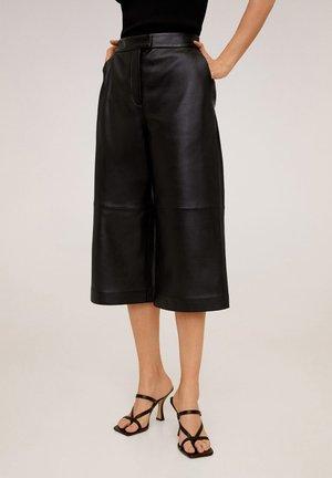 OTTAWA - Pantalon en cuir - schwarz