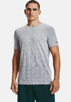 Print T-shirt - mod gray