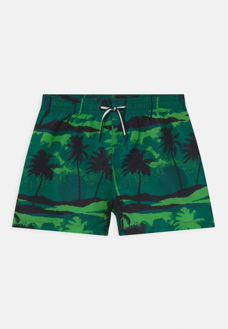 Molo - NIKO - Swimming shorts - black/dark green
