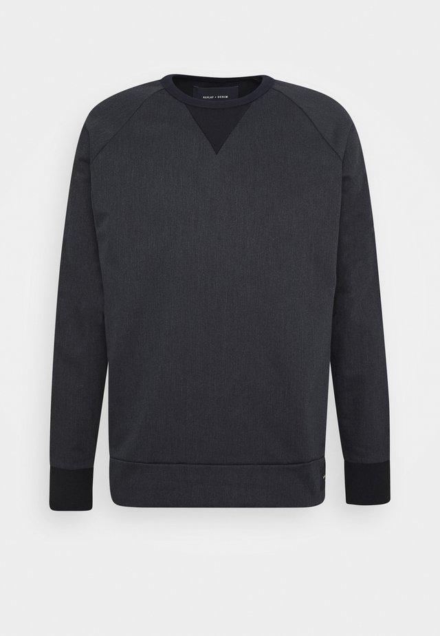 Sweatshirt - grey/blue