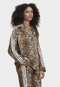 adidas Originals - LEOPARD - Button-down blouse - brown - 2