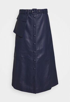 FALLYN SKIRT - A-line skirt - peacoat