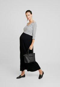 9Fashion - MILENNA - Maxi dress - black/white - 2