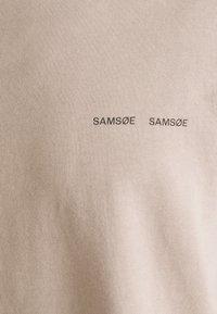 Samsøe Samsøe - NORSBRO - Basic T-shirt - bark - 2