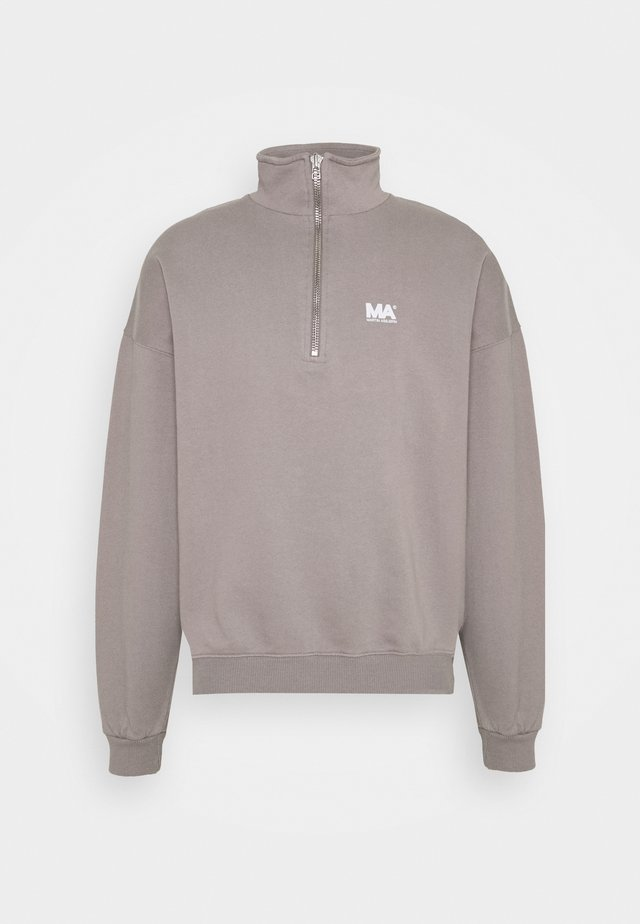 TURTLENECK - Collegepaita - grey
