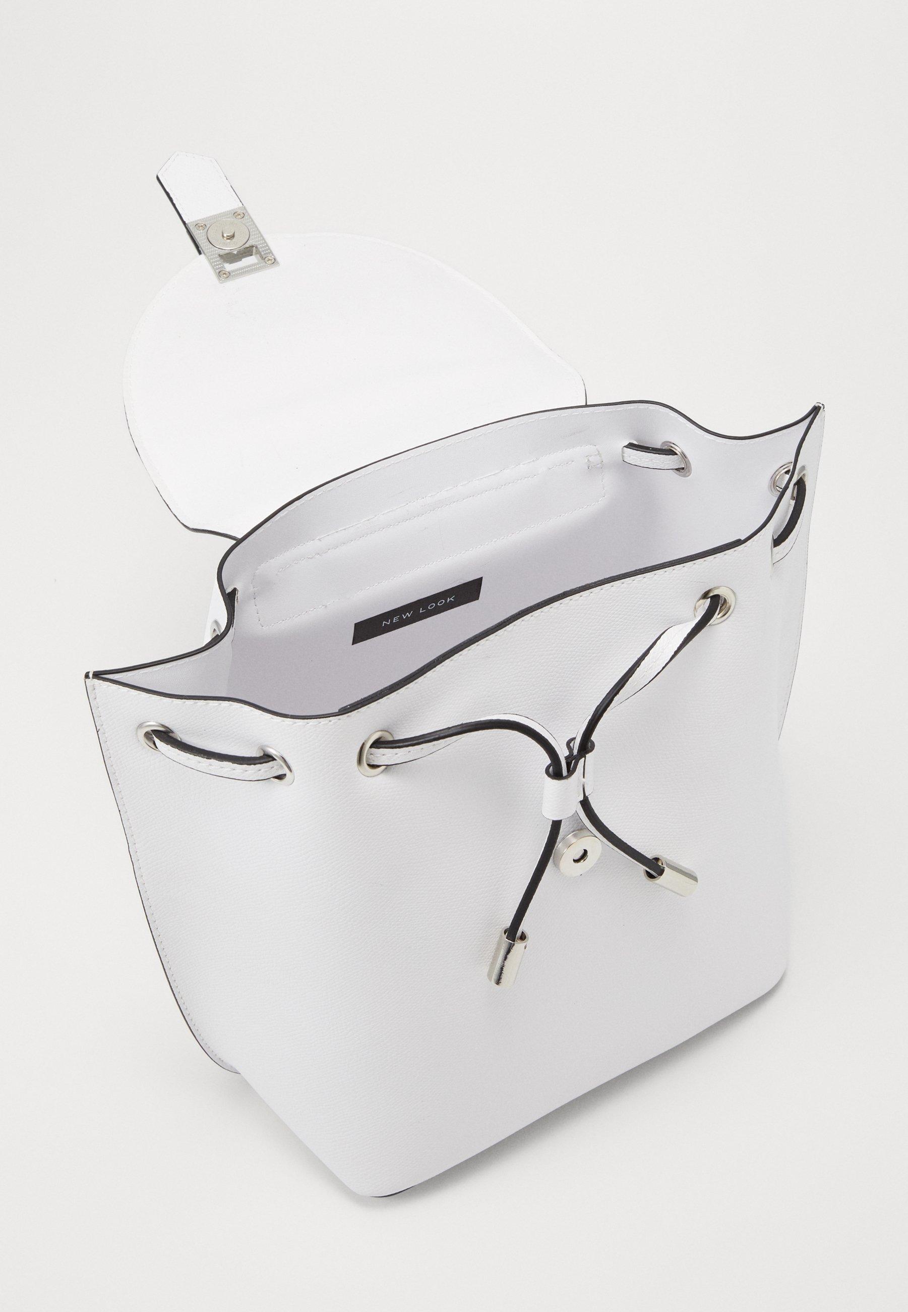 New Look FOSTER BACKPACK - Ryggsekk - white/hvit k2iEgH7FpYTe19U