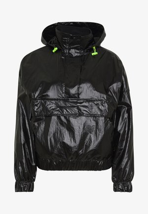 LADIES VANISH CRINKLE PULL OVER JACKET - Vindjakke - black
