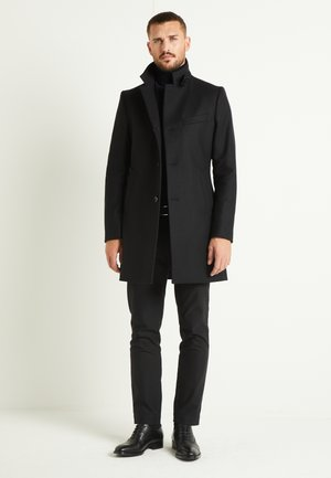 HOLGER COMPACT MELTON  - Cappotto classico - black