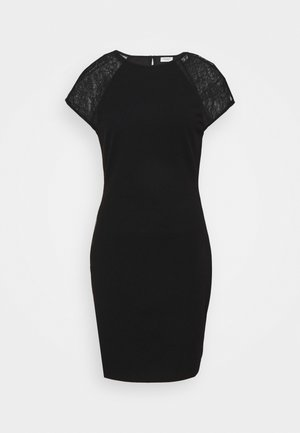 JDYBERNADETTE CAPSLEEVE DRESS - Etuikjole - black