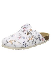 AFS Schuhe - Mules - weiß flower - 1
