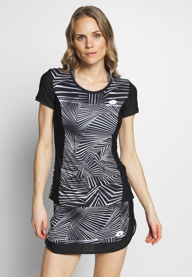 SUPERRAPIDA TEE - T-shirt z nadrukiem - all black