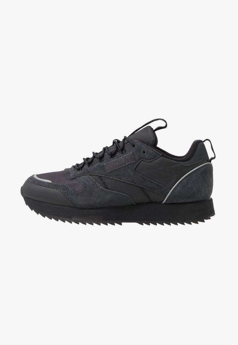 Reebok Classic - CLASSIC LEATHER RIPPLE TRAIL MUD GUARD SHOES - Sneakers - true grey/black/panton