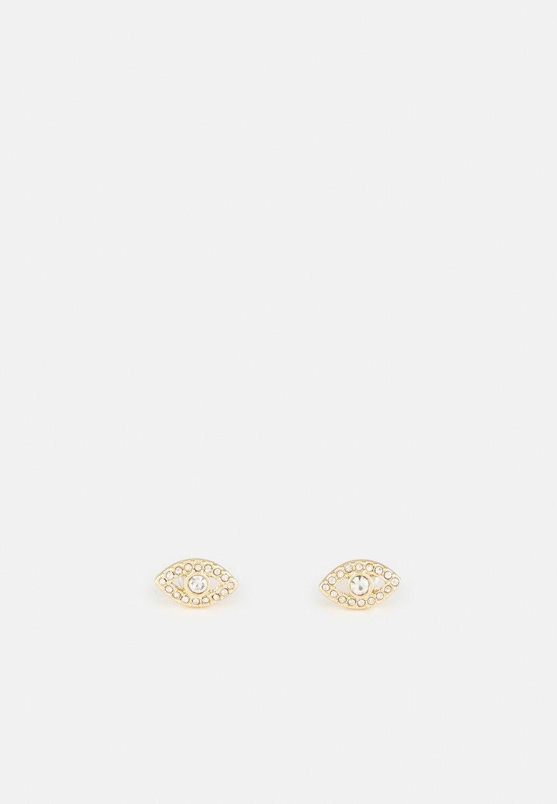 DKNY - EVIL EYE STUD - Earrings - gold-coloured